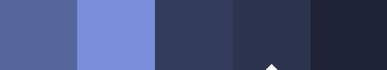 color palette navy